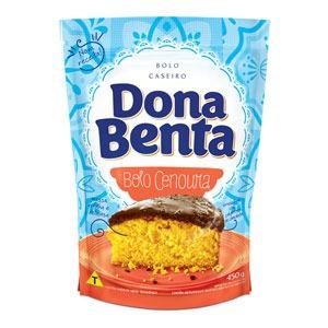 Mistura para Bolo Dona Benta<br>Linha Caseiros<br> Cenoura
