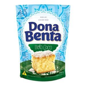 Mistura para Bolo Dona Benta<br>Linha Caseiros<br> Coco
