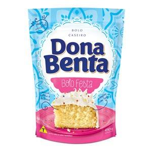 Mistura para Bolo Dona Benta<br>Linha Caseiros<br> Festa