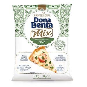 Farinha de Trigo para Pizza Dona Benta Profissional