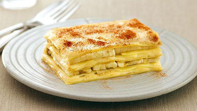 Lasagna de banana