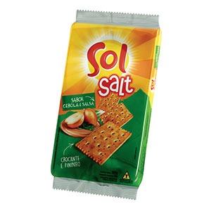 Biscoito Salgado Salt Cebola e Salsa