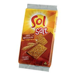 Biscoito Salgado Salt Integral