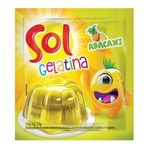 Gelatina de Abacaxi