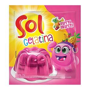Gelatina de Tutti-Frutti