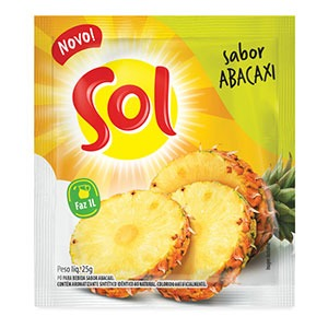 Refresco Sol Abacaxi