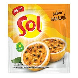 Pó para bebida sabor Maracujá