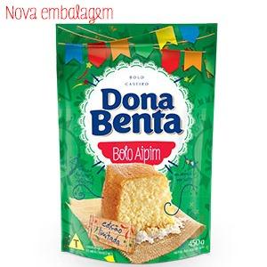 Mistura para Bolo Dona Benta Linha São João<br> Aipim