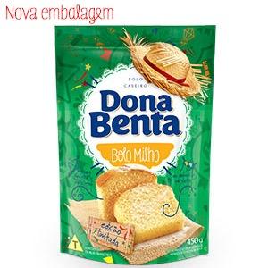Mistura para Bolo Dona Benta Linha São João<br> Milho