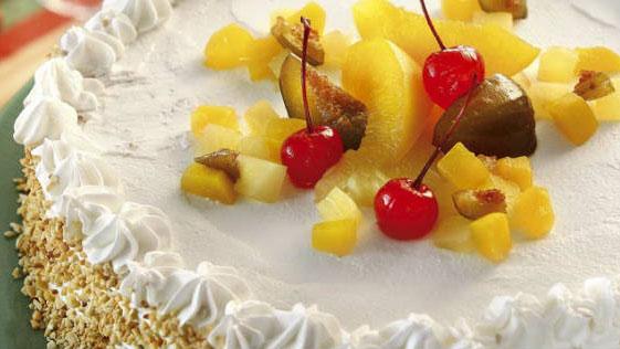 Bolo de Frutas em Calda