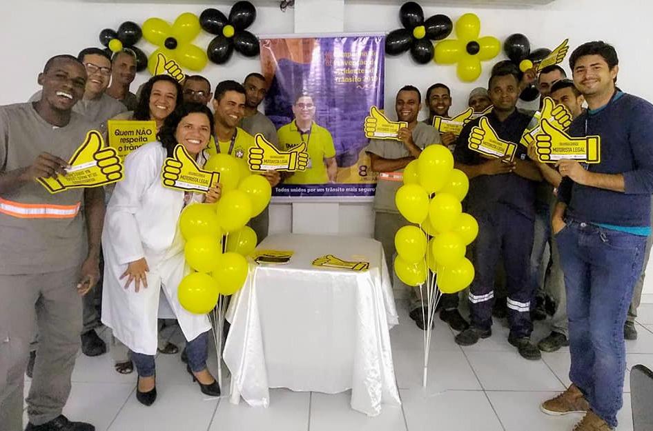 Maio Amarelo na J.Macêdo