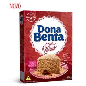 Mistura para Bolo Dona Benta <br>Linha A Dona do Pedaço <br>Canela