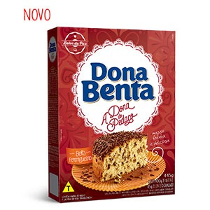 Mistura para Bolo Dona Benta <br>Linha A Dona do Pedaço <br>Formigueiro