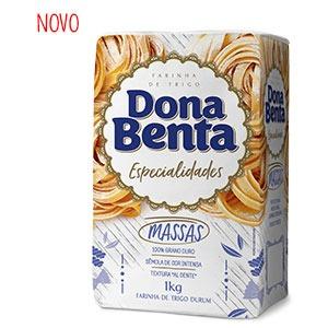 Farinha de Trigo Dona Benta</br> Linha Especialidades</br> Massas