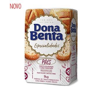 Farinha de Trigo Dona Benta</br>Linha Especialidades</br>Pães