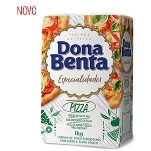 Farinha de Trigo Dona Benta</br>Linha Especialidades</br>Pizza