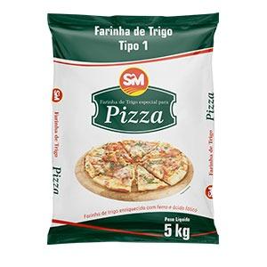 Farinha de Trigo para Pizza