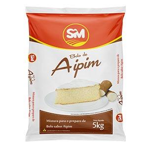 Mistura para bolo – Sabor Aipim
