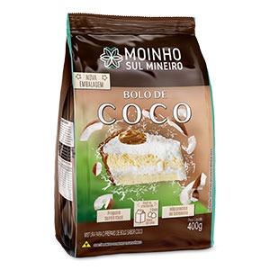 Mistura para bolo – Sabor coco
