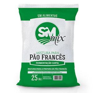 Mix pão francês curta fermentação